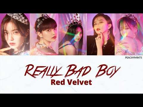 RED VELVET (레드벨벳) - RBB (REALLY BAD BOY) COLOR CODED LYRICS (HAN/ROM/ENG)