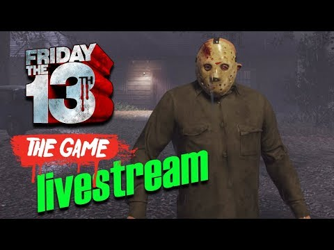 Part 4 Jason & Map Hype ☠ FRIDAY THE 13th: THE GAME ☠ Livestream 54 [GER]