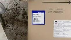 Volvo V50 1,6D. Partikkelfilter/additiv tank
