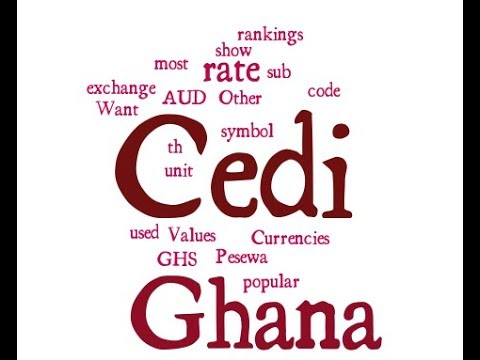 Ghana Currency - Cedi