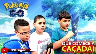 Pokemon Go - JPDragon Com Seus Primos!