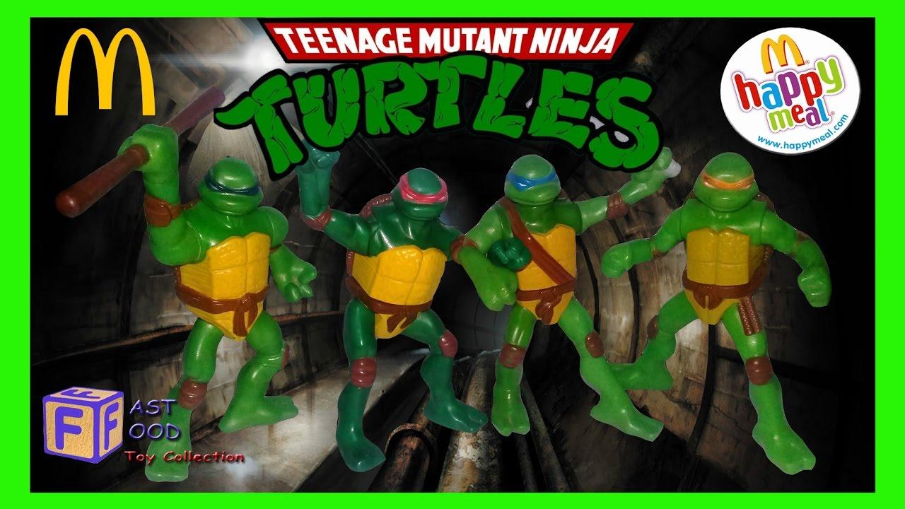 2007 Teenage Mutant Ninja Turtles Mcdonald S Happy Meal Kids Toys