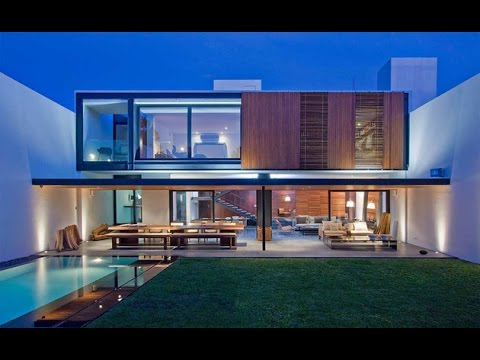 Casa RO  Modern House Design With Amazing Interior Design and Organic Shape Furniture  YouTube