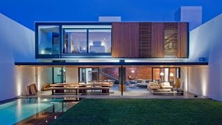 Casa Ro - Modern House Design With Amazing Interior Design And Organic Shape Furniture