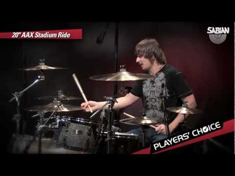 "SABIAN Players' Choice - Ray Luzier Demos the 20"" AAX Stadium Ride"