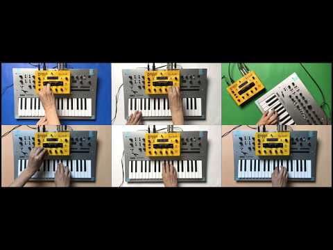 Stranger Things kids theme | DSI Mopho short cover