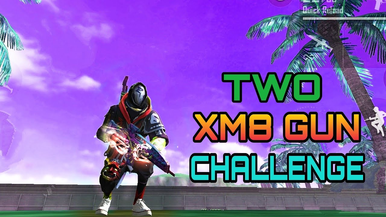 TWO XM8 CHALLENGE IN RANKED MATCH OP GAMEPLAY | XM8 CHALLENGE ATTACKING GAMEPLAY MALAYALAM FREE FIRE