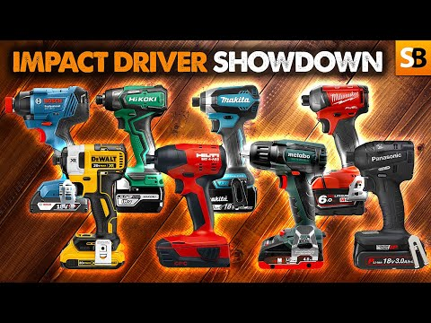 Impact Driver Showdown! Updated Review of 8 Top Drivers