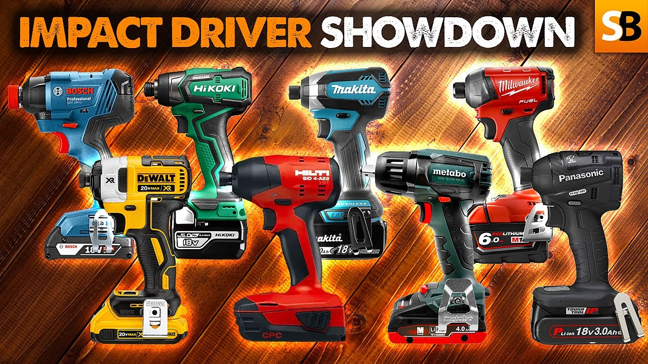 Impact Driver Showdown! Review of 8 Best Drivers
