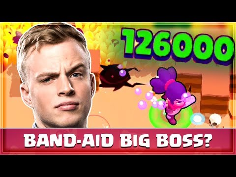 BIG GAME Band-aid Shelly: Is It OP? Brawl Stars