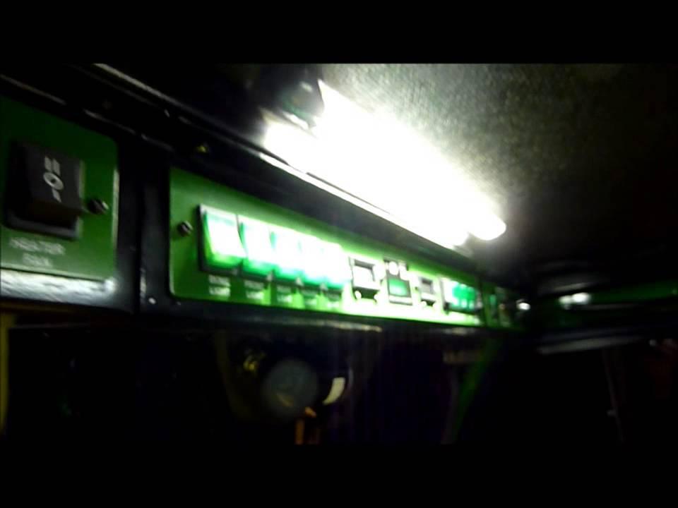 John Deere X748 Curtis Hard Cab with Custom Overhead ...
