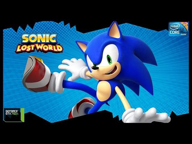 Sonic Lost World - I3 3250 + Gtx 750ti - Full Hd