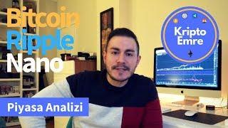 Bitcoin , Ripple , NANO Konuşuyoruz