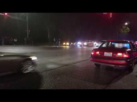 Kent street racing COPS!!!! ( Subscribe )