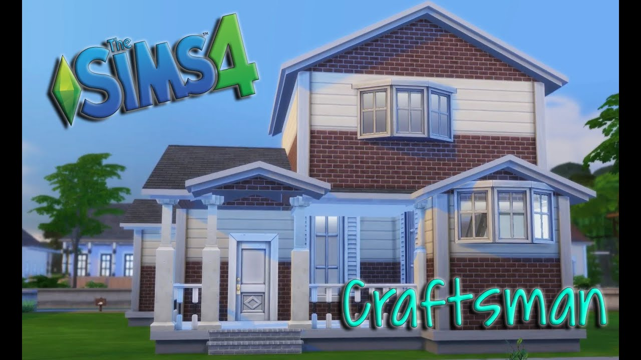 sims 4 speed build challenge 1 craftsman house youtube sims 4 speed build challenge 1 craftsman house