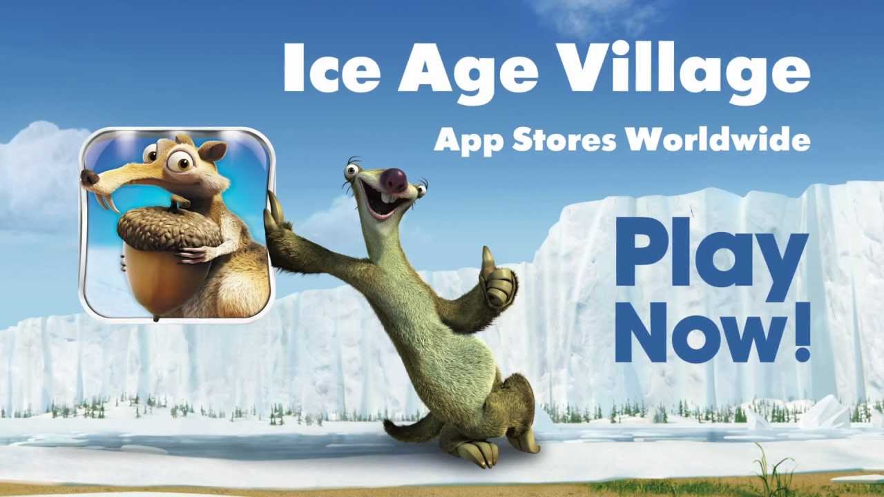 ice age village  official trailergameloft  youtube