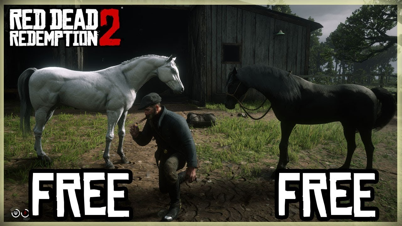 HOW TO GET A BLACK ARABIAN FOR FREE RED DEAD REDEMPTION 2