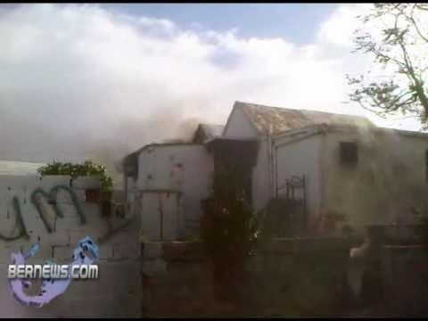 Bermuda House Fire - December 14th 2010