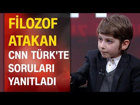 Filozof Atakan Kayalar CNN TÜRK'te soruları yanıtladı, nasıl bir eğitim alma