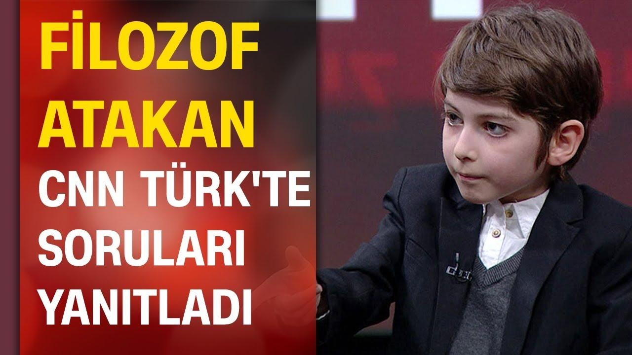 Filozof Atakan Kayalar CNN TÜRK'te soruları yanıtladı, nasıl bir eğitim almak istediğini anlatt