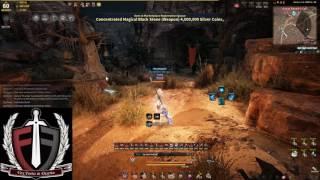 Black Desert Online - Maehwa with Pure Black Stone!! Insane speed!