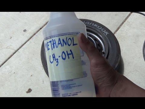 DIY: Pop a bead & seal a tire with Methanol