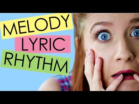 HELP! What's a MELODY, LYRIC, & RHYTHM? (Songwriting 101)