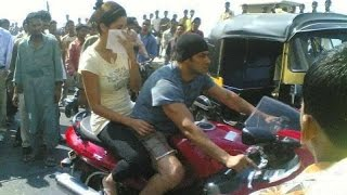 Salman khan bike riding in bandra