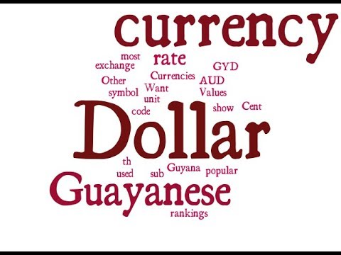Guayanese Currency - Dollar