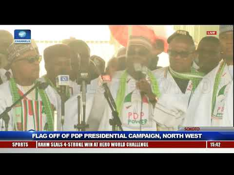 PDP Launches Presidential Campaign In Sokoto Pt.7 |Live Event|