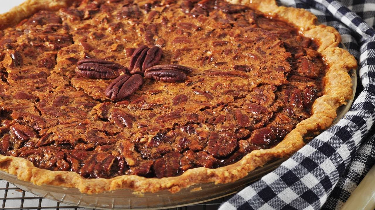Pecan Pie Recipe Video Joyofbaking Com Video Recipe