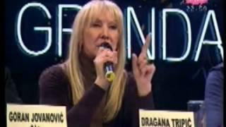 Darko Lazic - Ti si zena koju ludo volim (komentari zirija) - Zvezde Granda - (Tv Pink 2009)