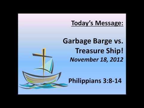 Garbage Barge vs Treasure Ship