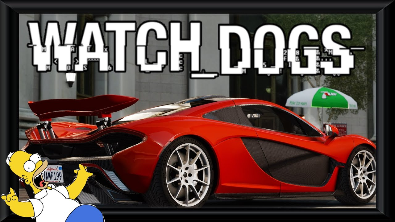 Watchdogs How To Get Super Car For Free Sports Car Watch Dogs - Get in sports car