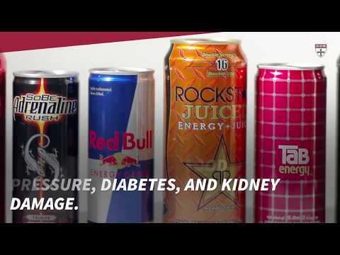 Energy drinks Health downsides not worth extra pep