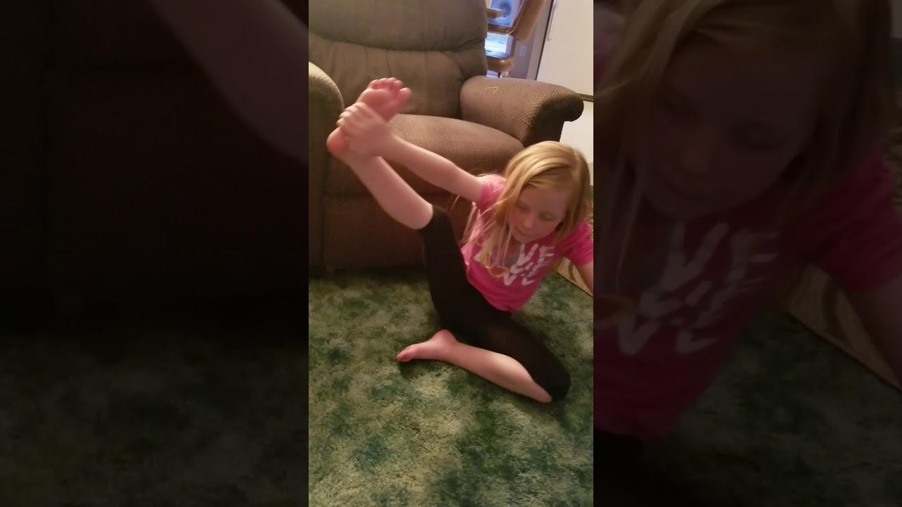 Gymnastics team work