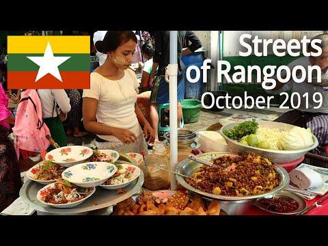 MYANMAR / BURMA - Streets of Yangon (Rangoon) - October 2019