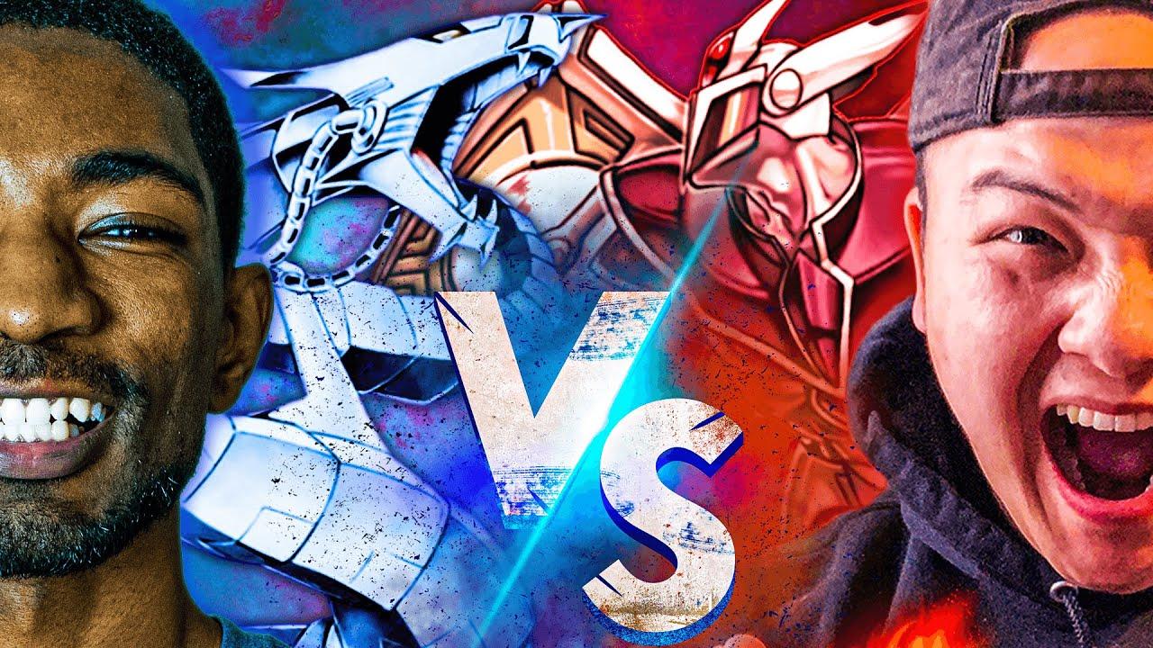 TEAM APS vs TEAMSAMURAIX1! Cyber Dragons VS Heroes! Yu-Gi-Oh Duel!