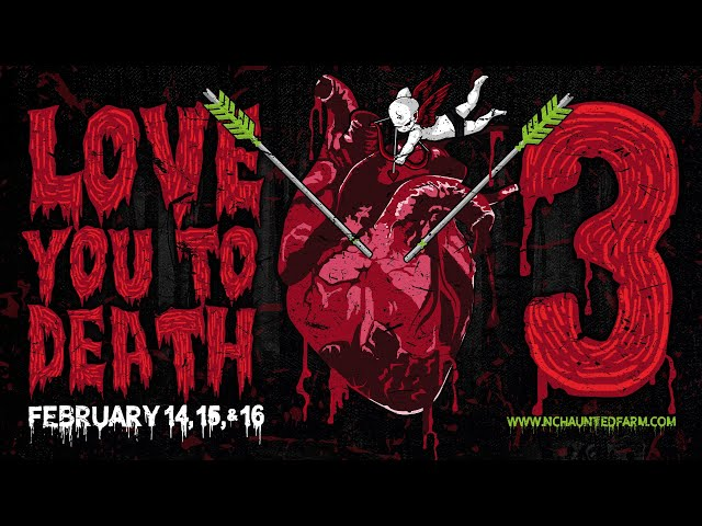 Love You To Death 3! The Haunted Farm | NC's BEST Haunted Attraction