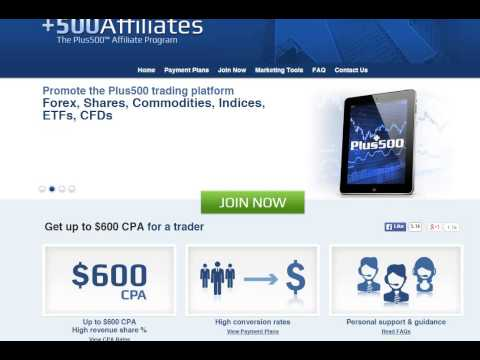 Plus 500 Forex Affiliate Review