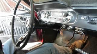 COLD start 1965 Mustang After Winter Sitting 6 Months