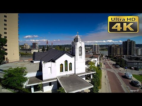 4K Downtown New Westminster  British Columbia Canada