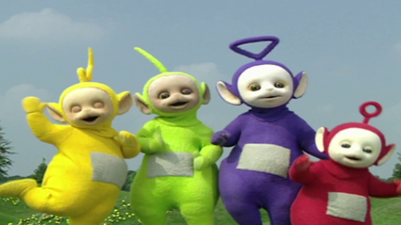 teletubbies norsk