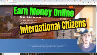 International online income - earn no us citizenship