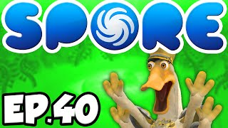 Spore: Tale of The Wafflepod Ep.40 - PEACE AT LAST! [Spore]