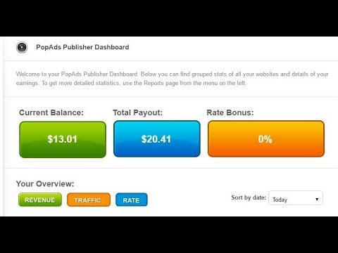 PopAds Review | Make Money with PopAds Proof | Highest Paying CPM pop under  ads Network