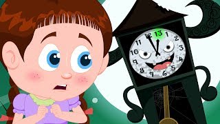 Clock Has Struck Thirteen | Schoolies Videos | Songs And Videos For Kids