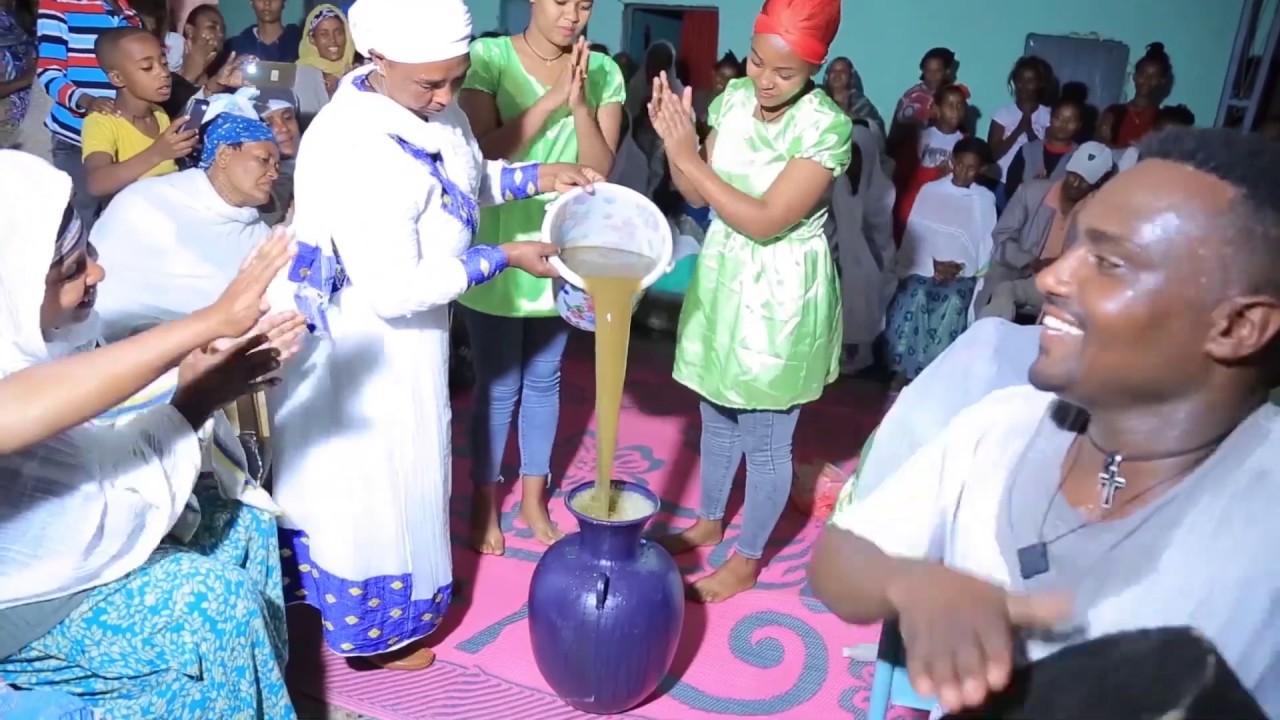 Ethiopia Gurage Enshoshla Wedding Culture