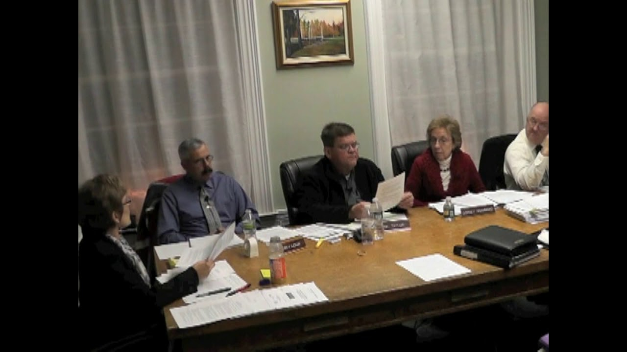 Ticonderoga Town Board Meeting part two  12-8-11
