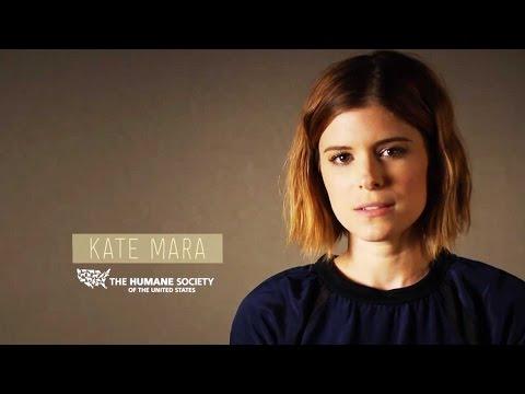 """The Martian"" Star Kate Mara Promotes Meatless Monday"